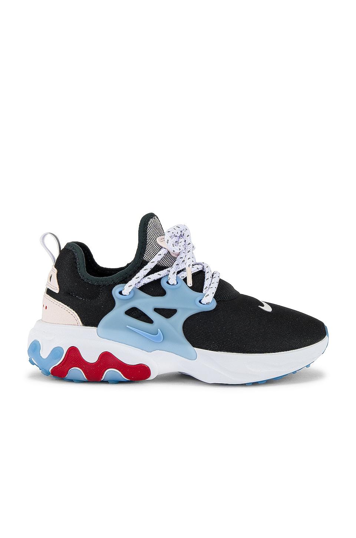 Nike React Presto Sneaker in Off Noir