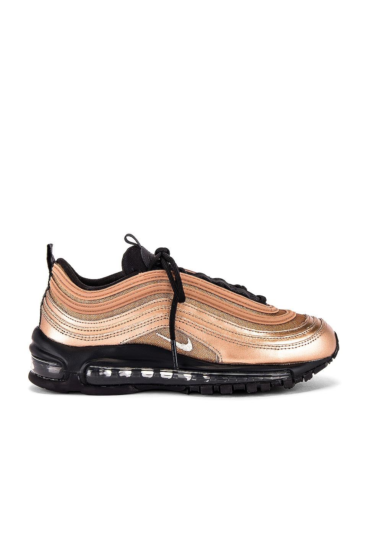 Nike Air Max 97 HS Sneaker in Oil Grey, Metallic Silver, Metallic Red & Bronze