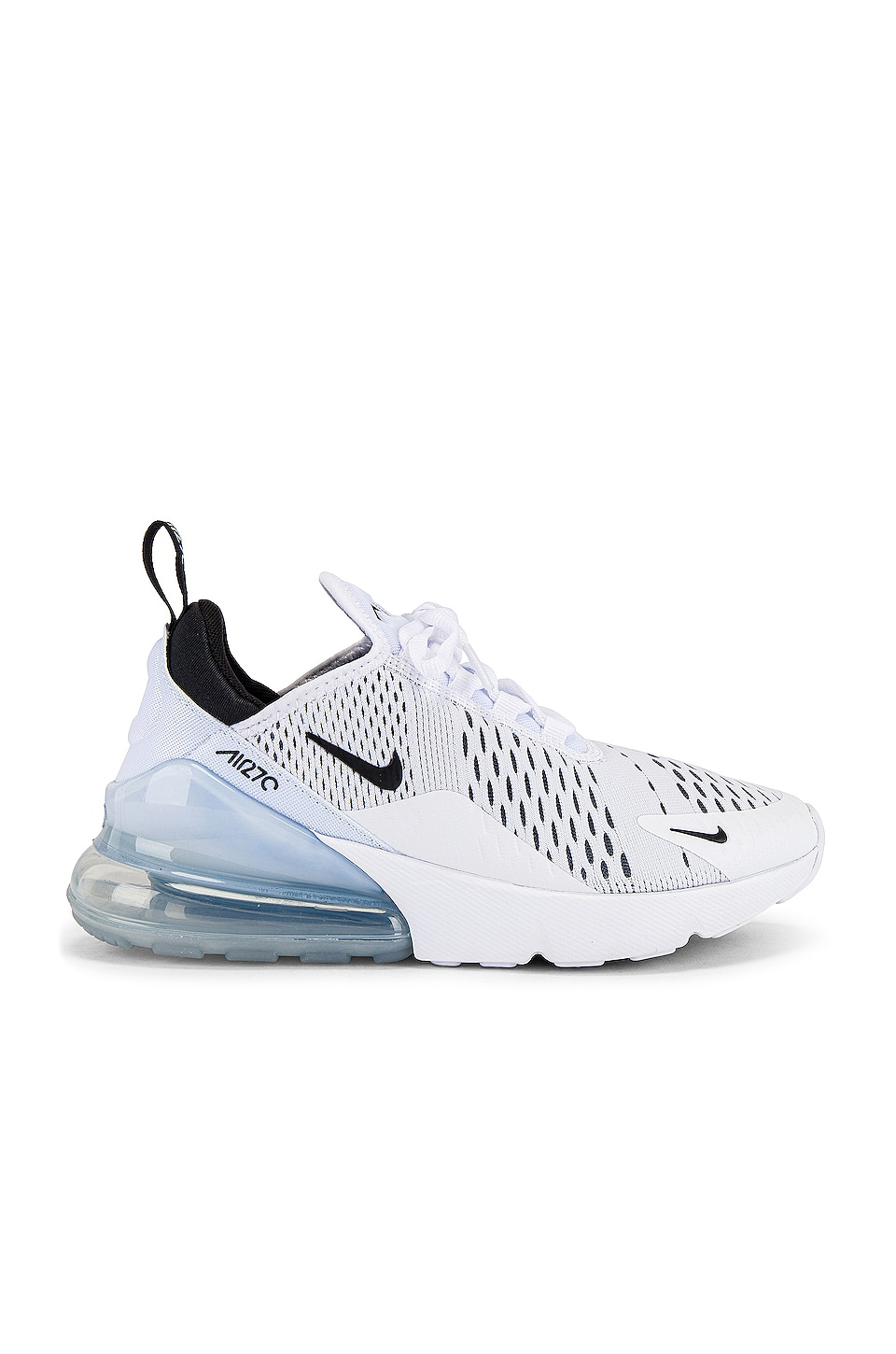 Nike Air Max 270 Sneaker in White & Black