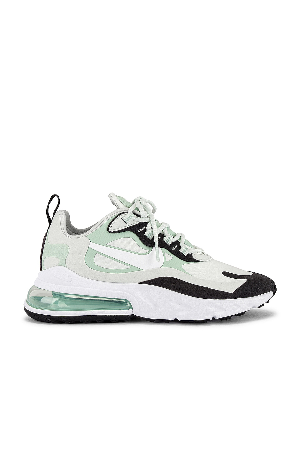 Nike Air Max 270 React Sneaker in Spruce Aura, White & Pistachio Frost