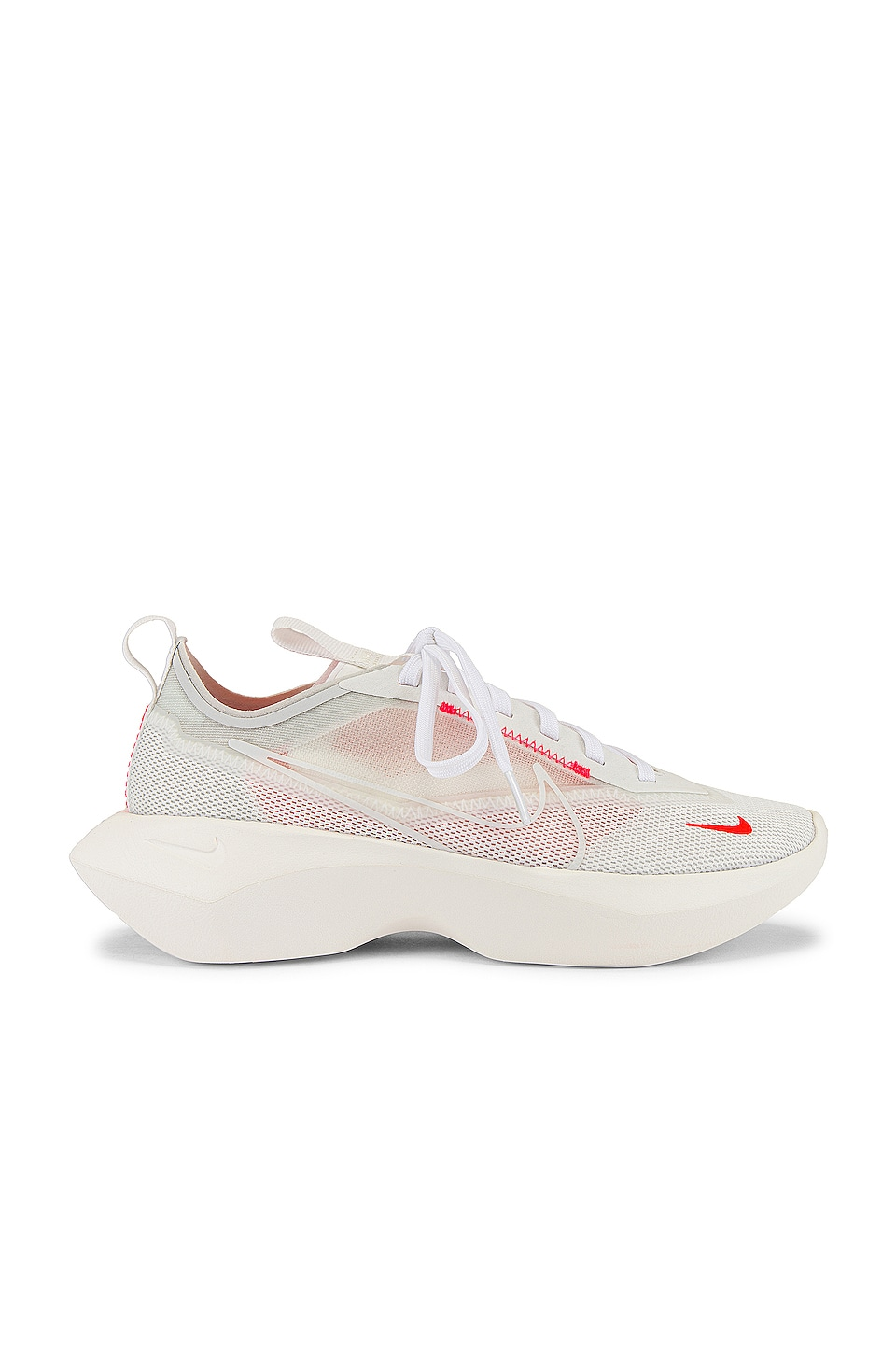 Nike Vista Lite Sneaker in White, Laser Crimson & Photon Dust