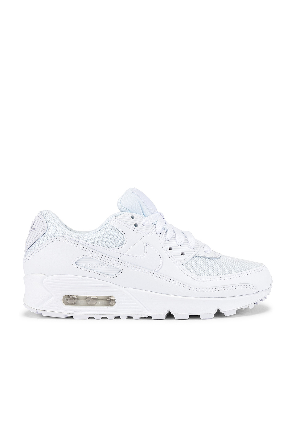 Nike Air Max 90 365 Sneaker in White & Wolf Grey