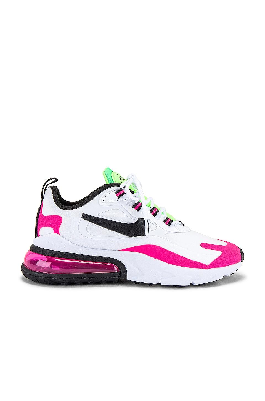 Nike Air Max 270 React Sneaker in Hyper