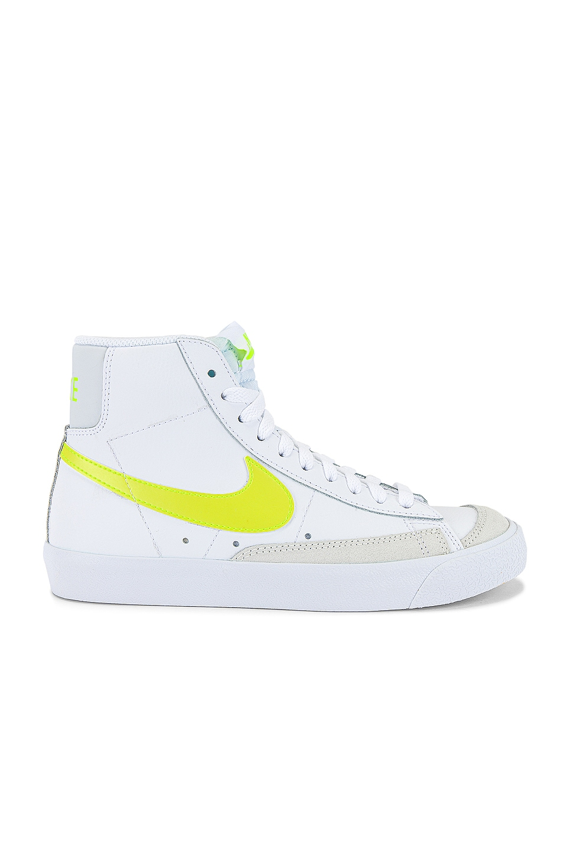 Nike Blazer Mid '77 Sneaker in White, Lemon, Venom & Platinum ...