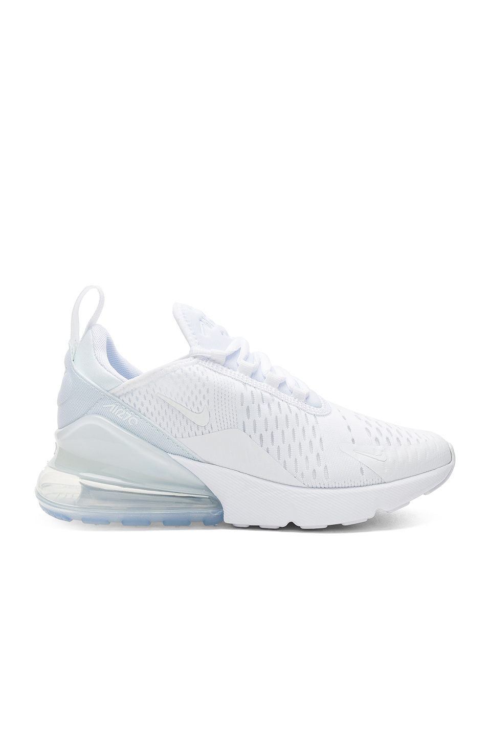 Women'S Air Max 270 Casual Shoes, White, White/ White/ White