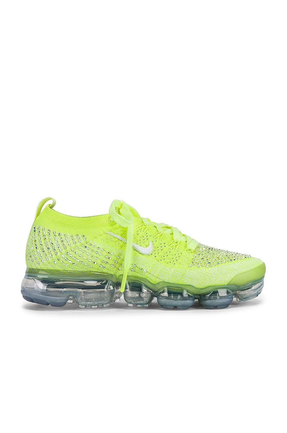 buy popular 0ad99 4327d Nike Air Vapormax Flyknit 2 LXX Sneaker in Volt Glow, White ...