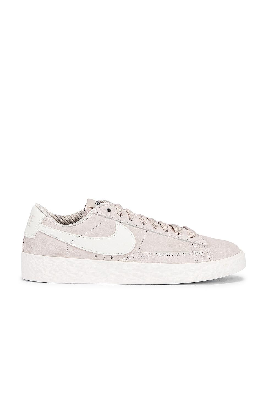 Nike Blazer Low Suede Sneaker in Sand