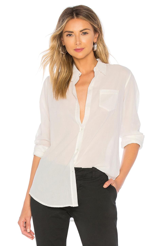 NILI LOTAN NL Shirt in Ivory