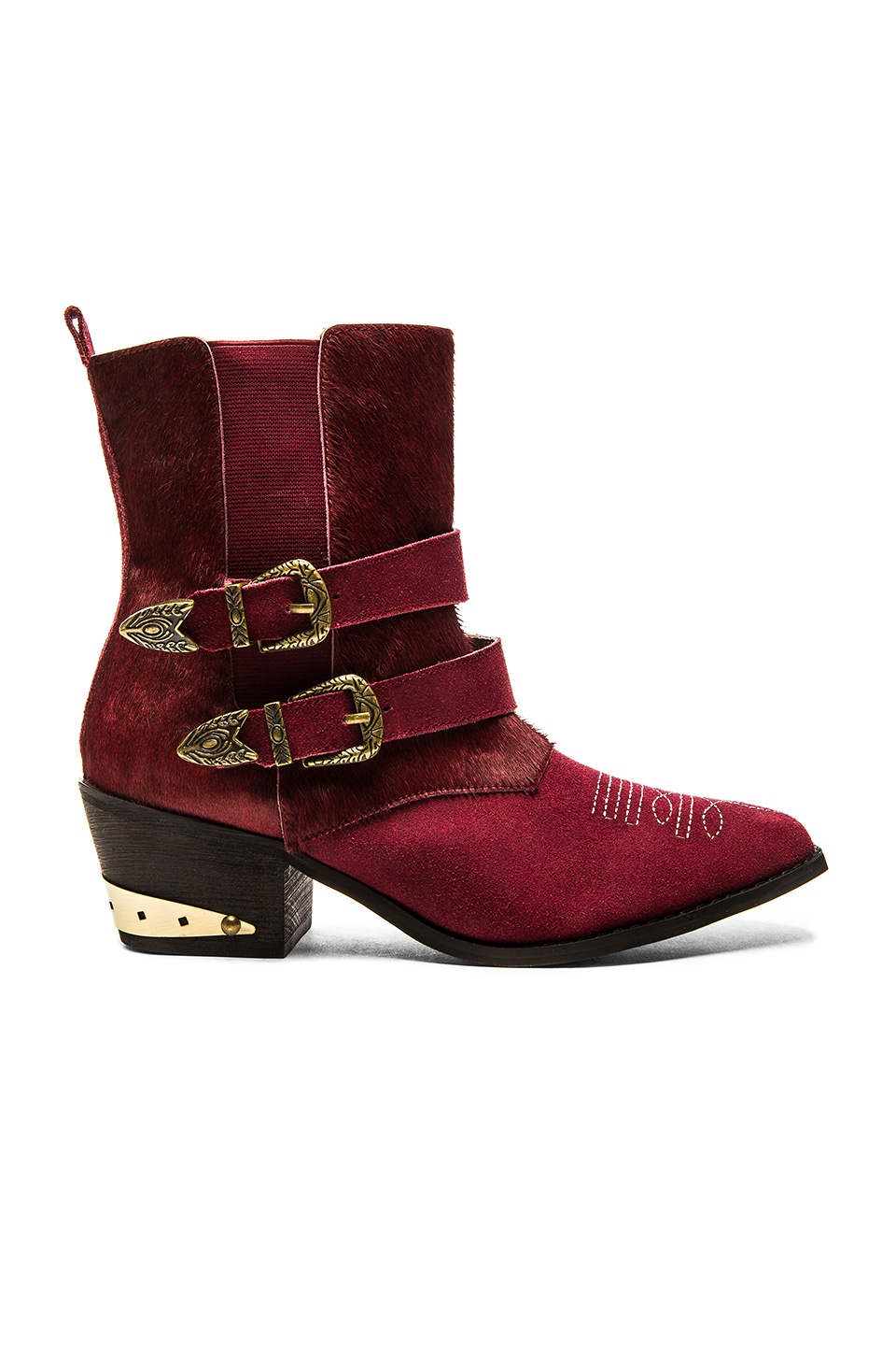 The Sheriff Pony Hair Boot at REVOLVE