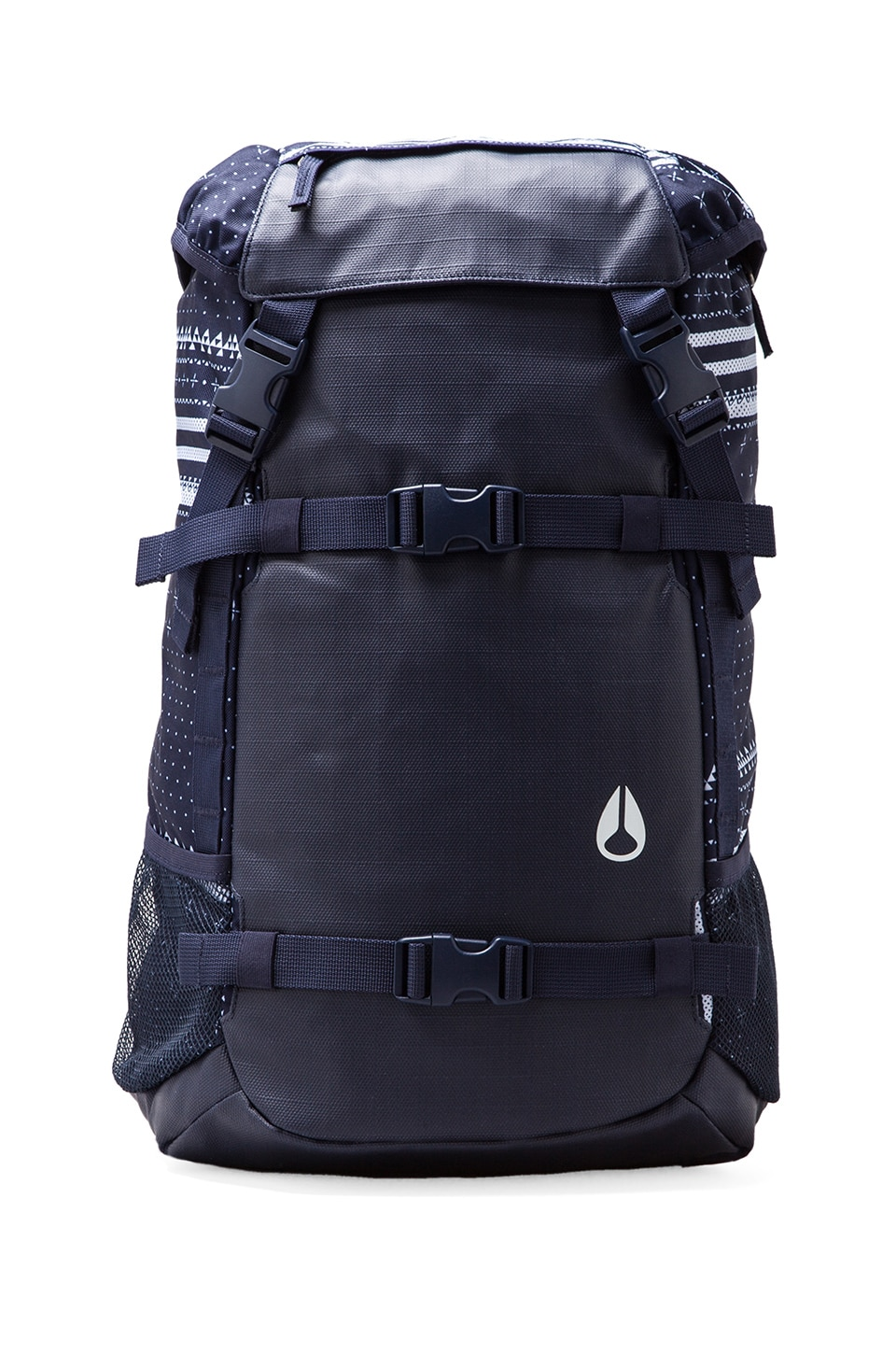 Nixon Landlock Backpack in Guardsmen Navy