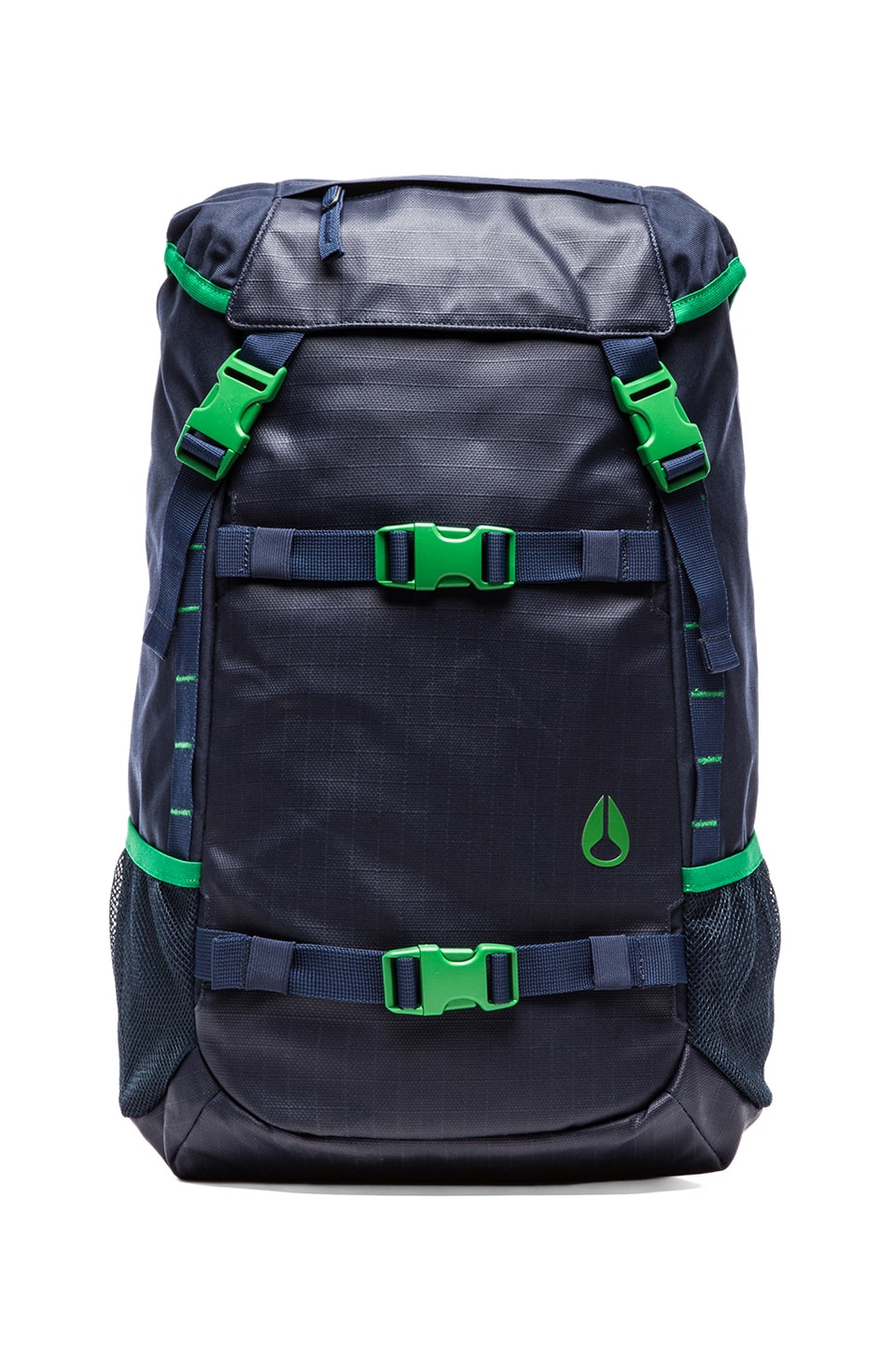 Nixon Landlock Backpack in Faded Navy