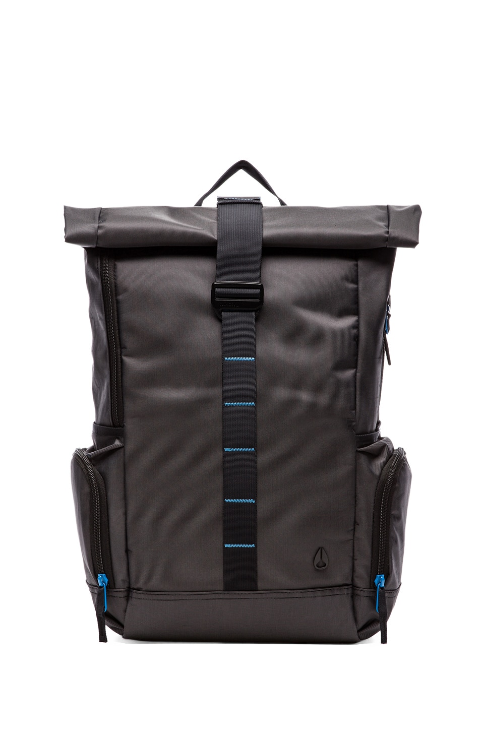 Nixon Hydro Backpack in Black/ Blue