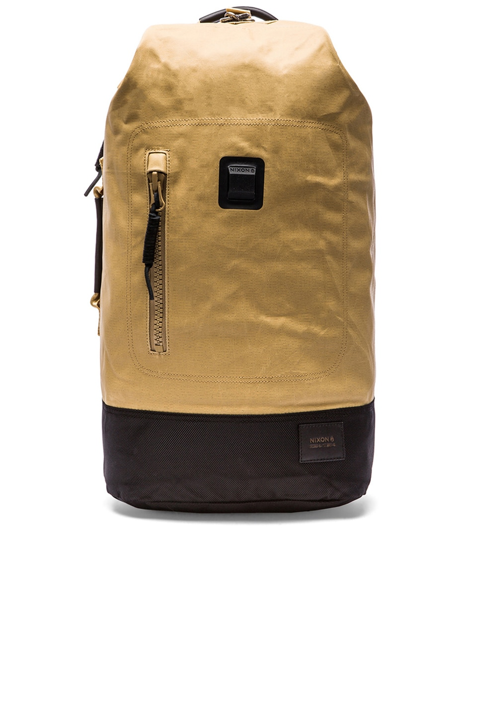 Nixon Origami Backpack in Khaki & Black