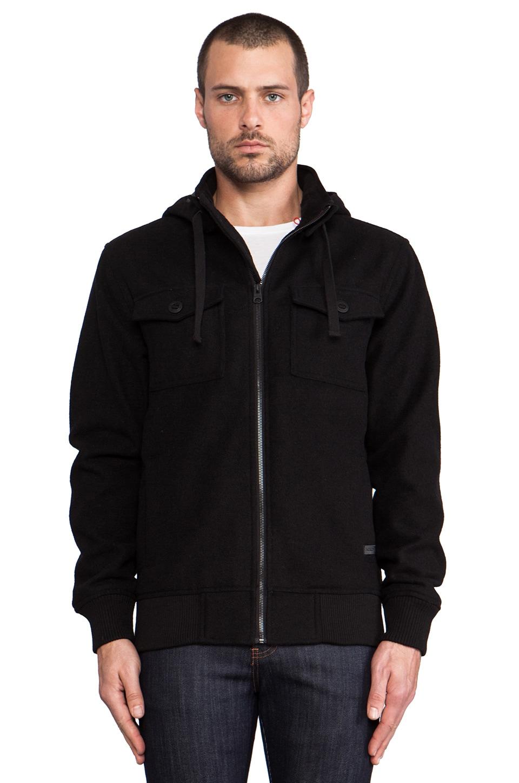 Nixon Captain Jacket in Black