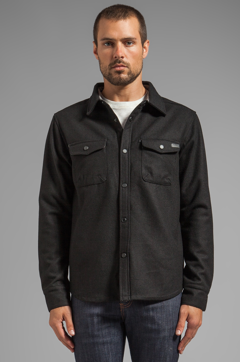Nixon Corporal Jacket in Black