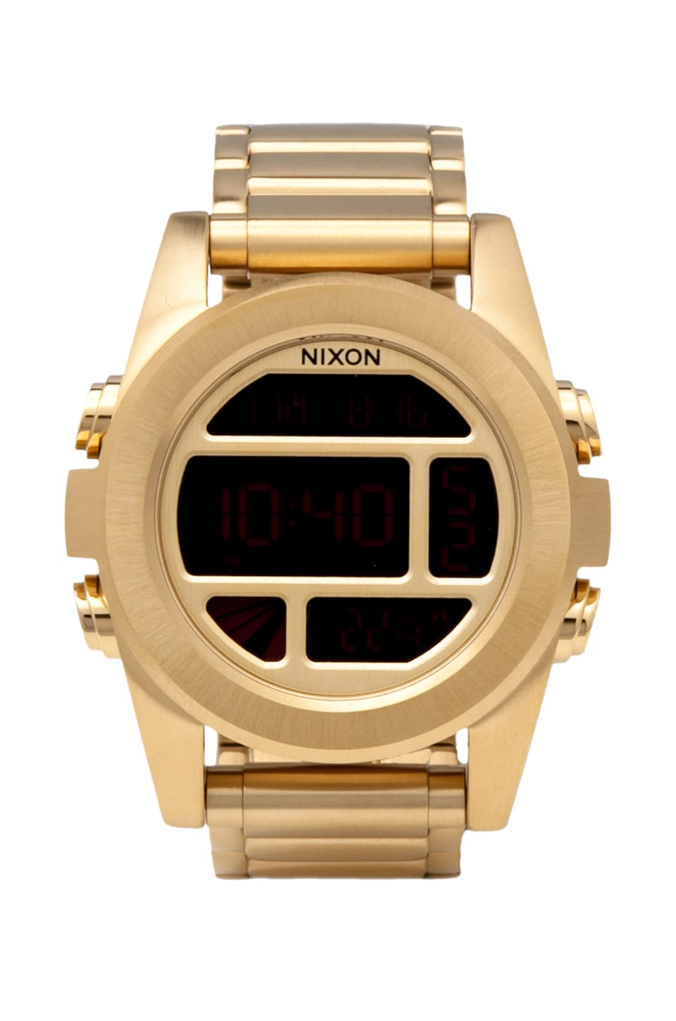 Nixon The Unit SS in All Gold