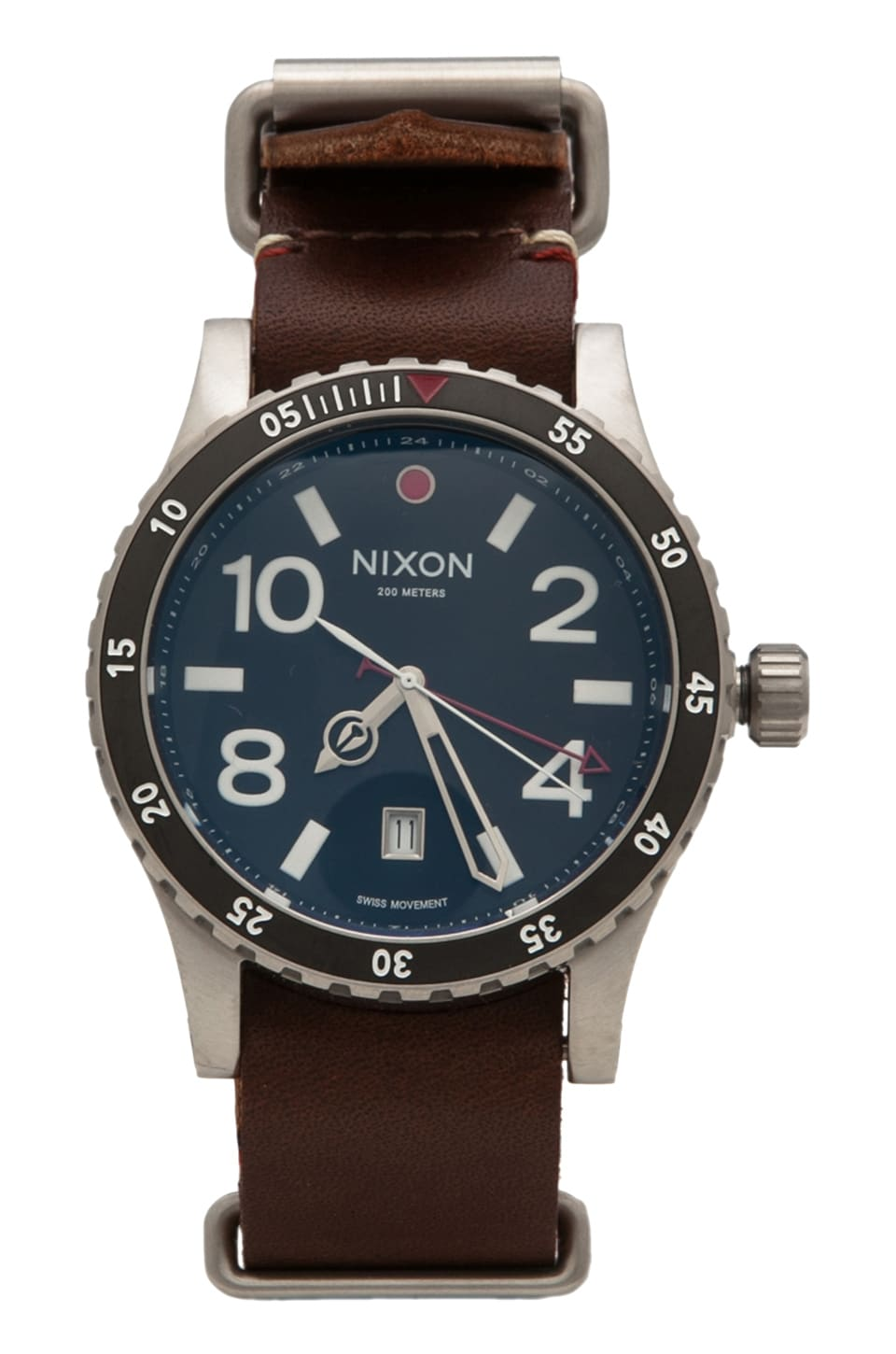 Nixon The Diplomat in Black/ Brown