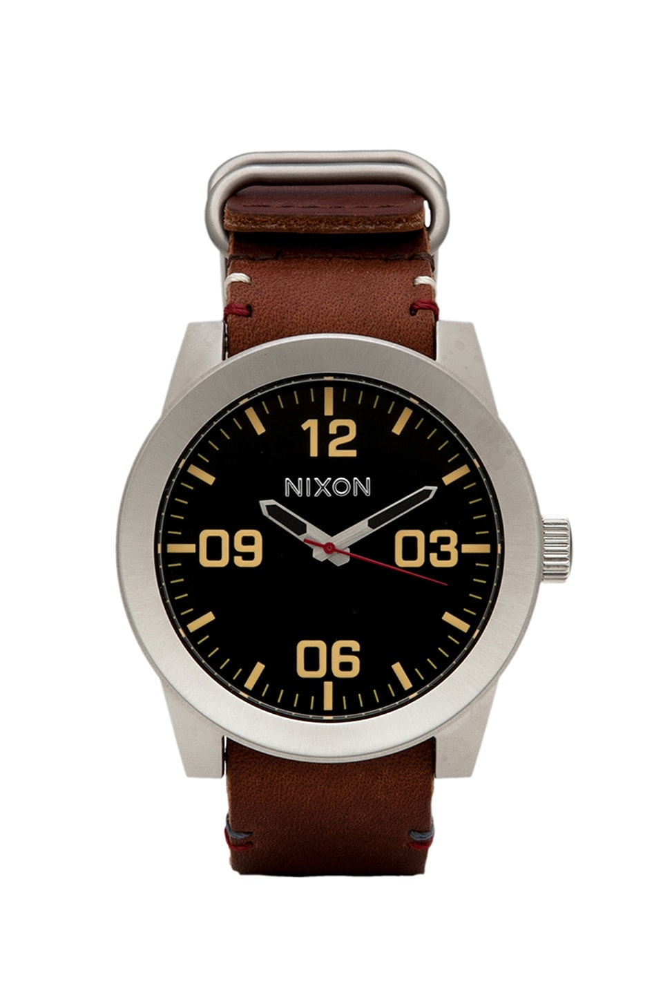 Nixon The Corporal in Black/ Brown