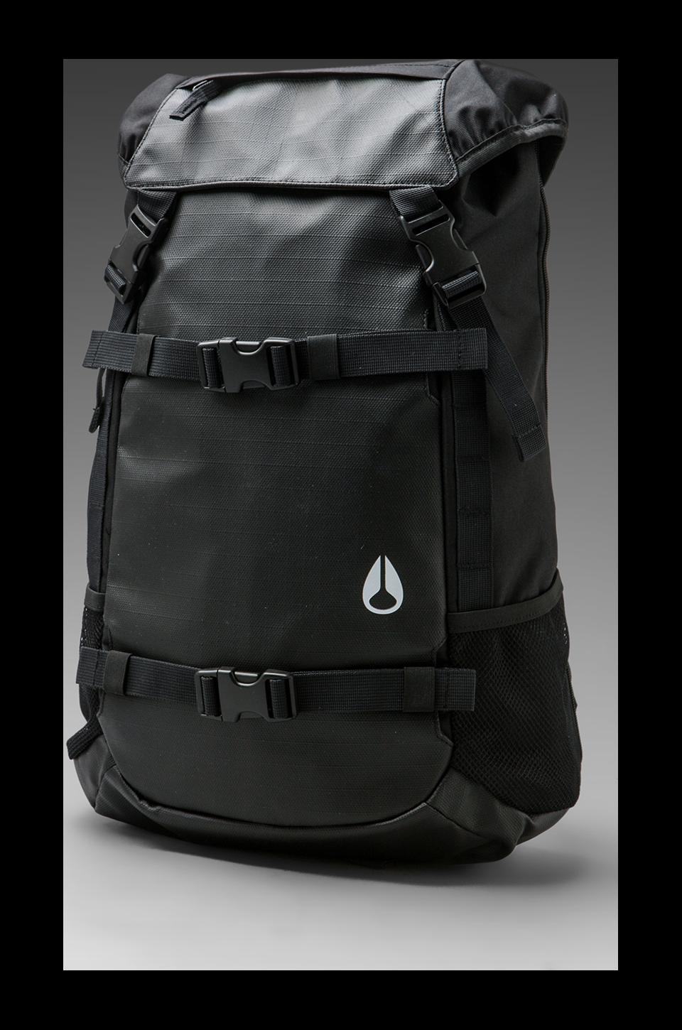 Nixon Landlock Backpack II in Black