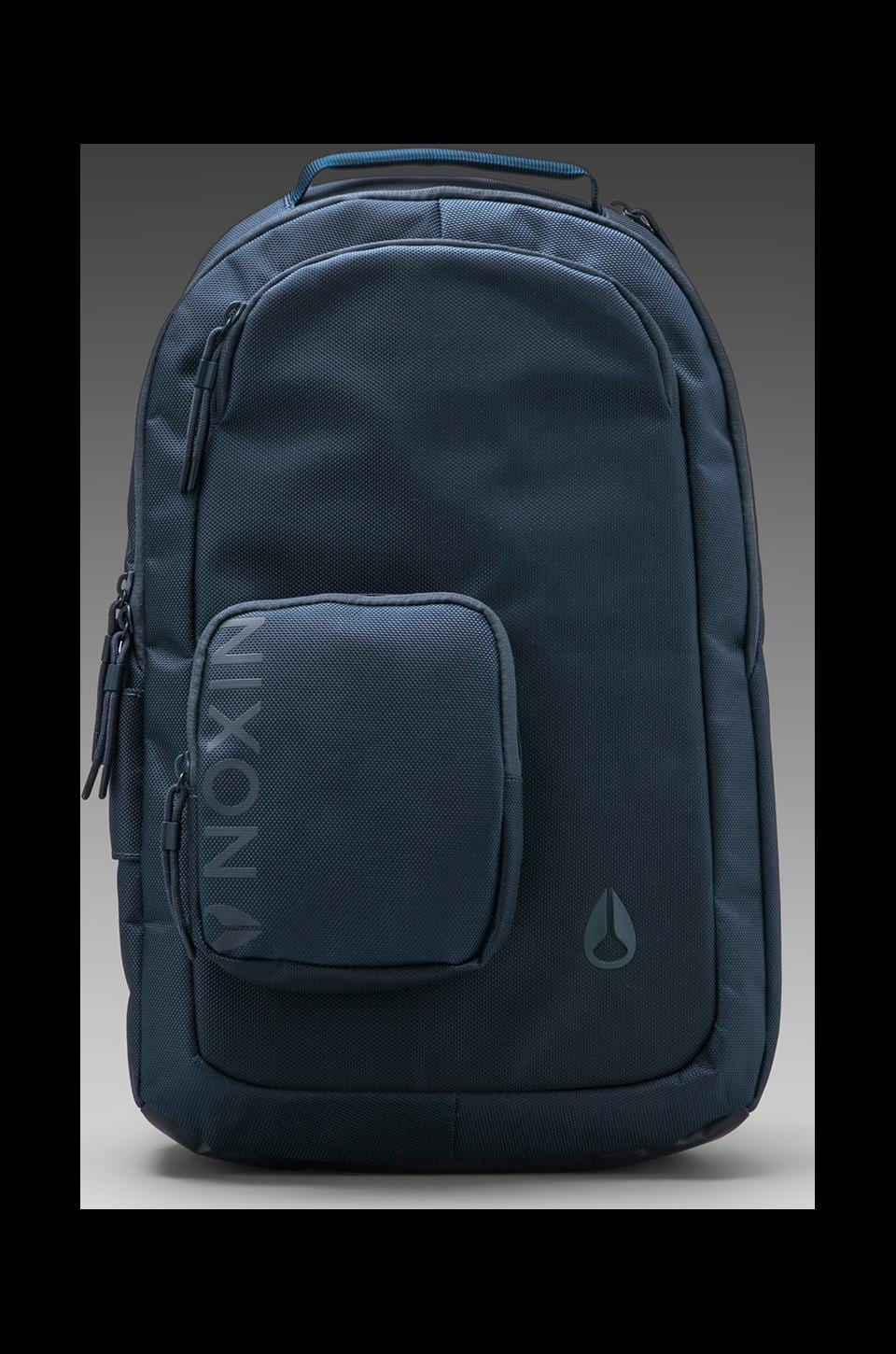Nixon Small Shadow Backpack in Steel Blue