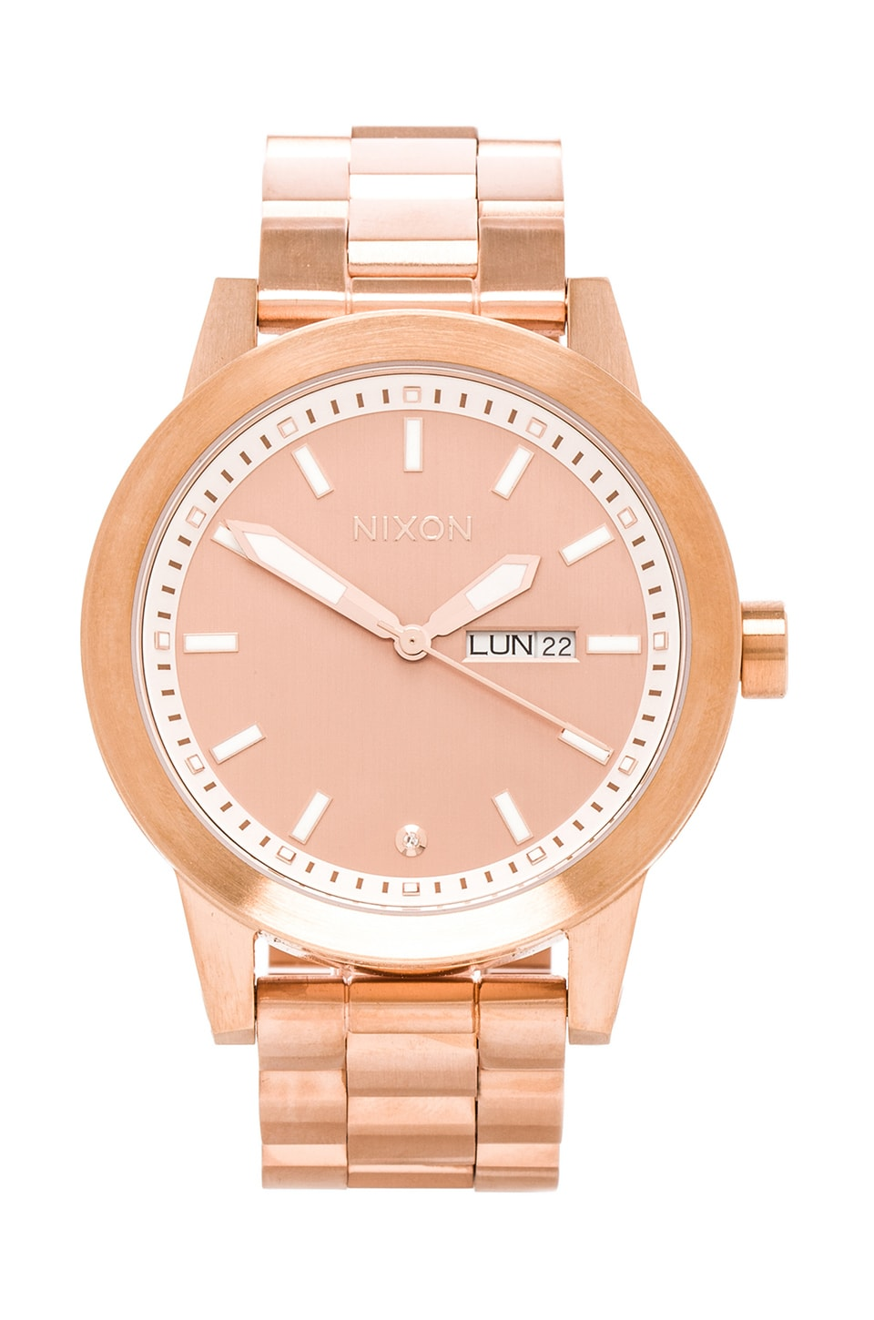 Nixon The Spur in All Rose Gold