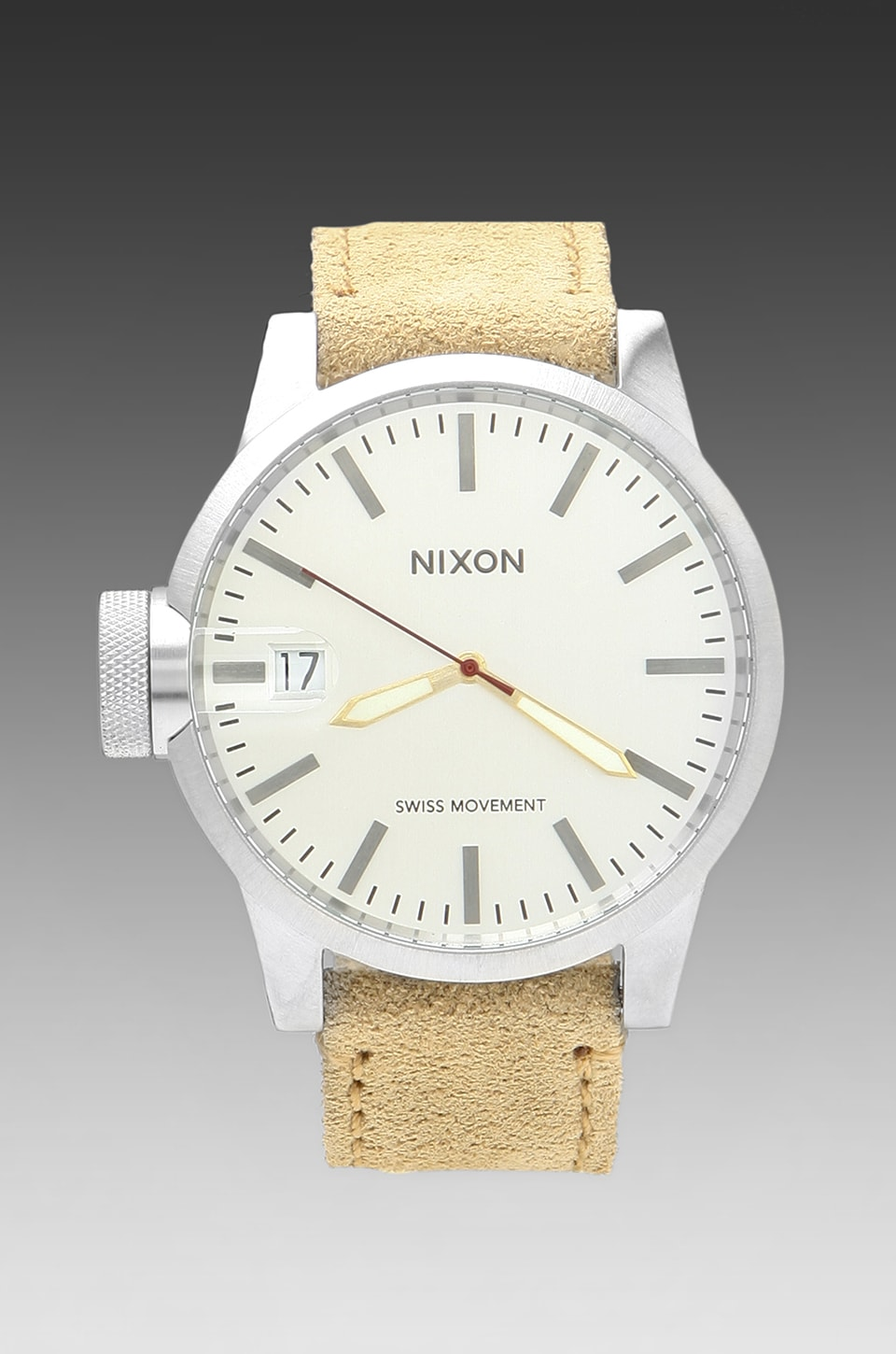 Nixon The Chronicle in Desert Suede