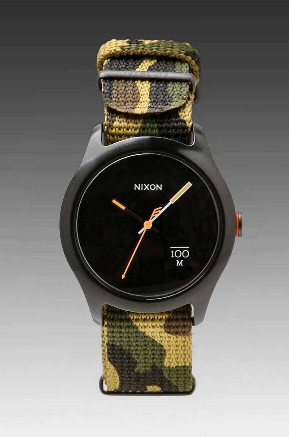 Nixon The Quad in Woodland Camo