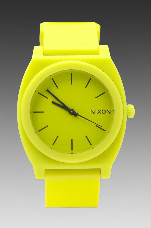 Nixon The Time Teller P in Neon Yellow