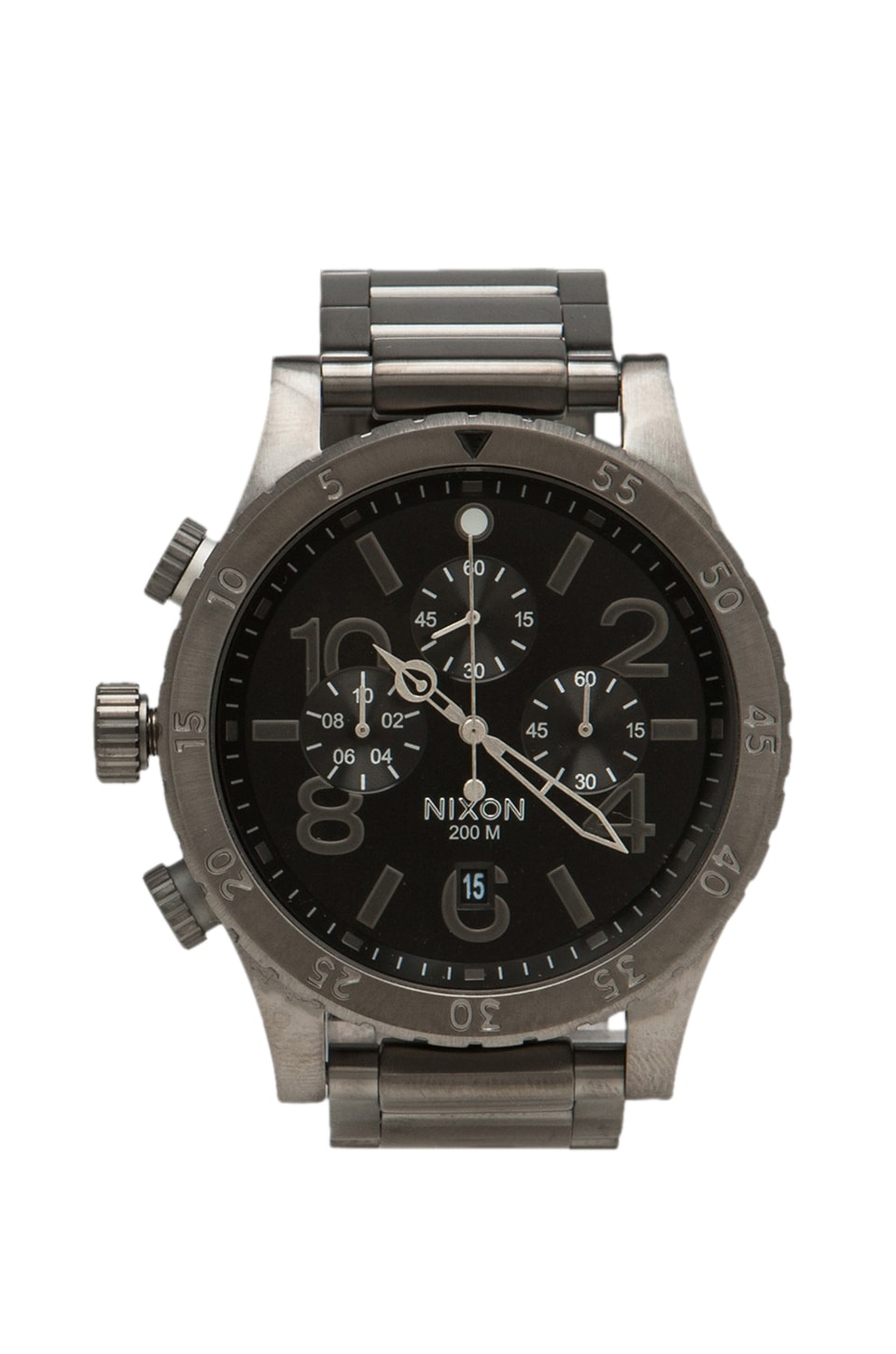 Nixon The 48-20 Chrono in All Gunmetal