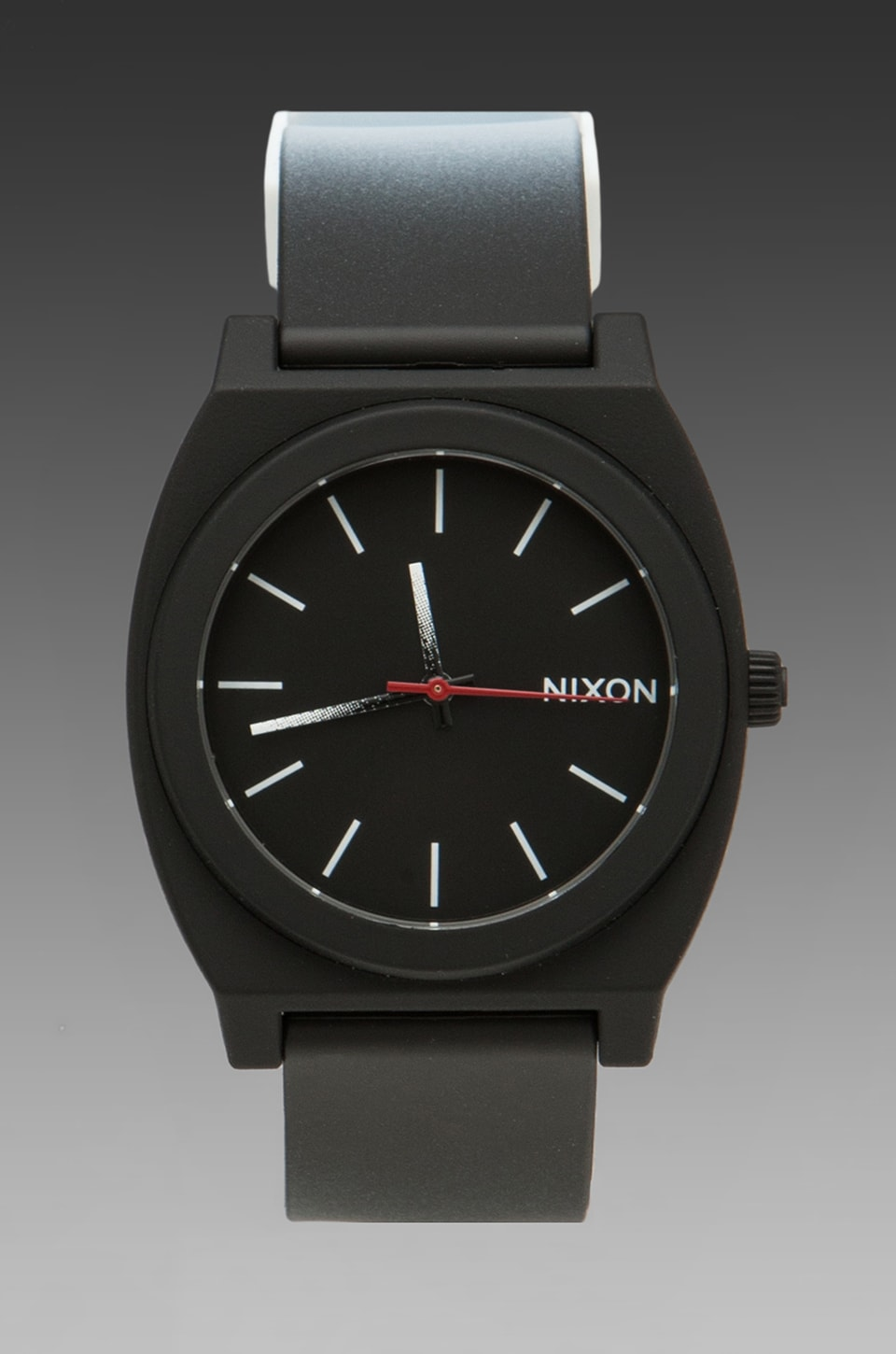 Nixon Dip Dye Collection The Time Teller P in Black/White Fade