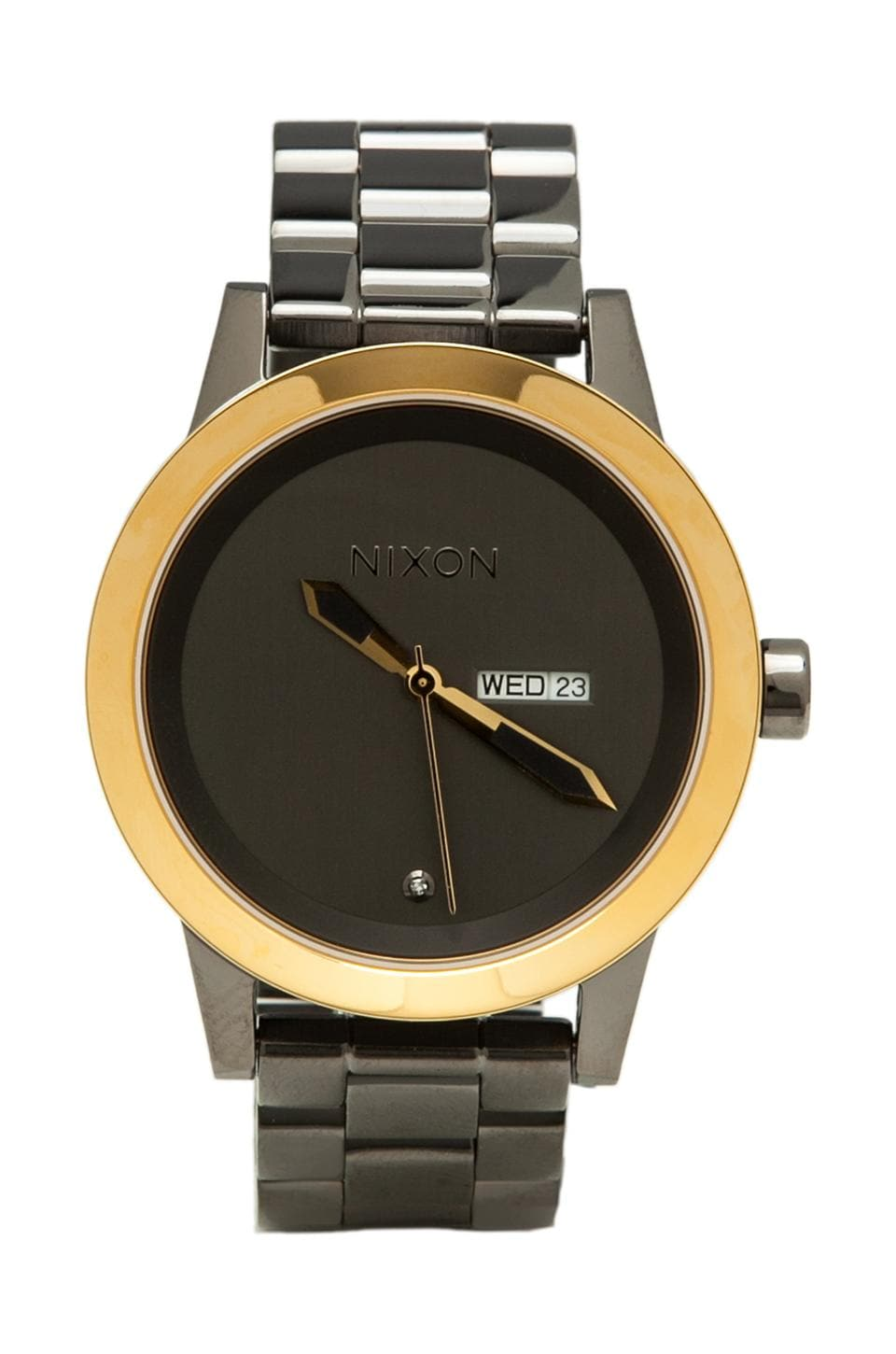 Nixon The Spur in Gun & Gold