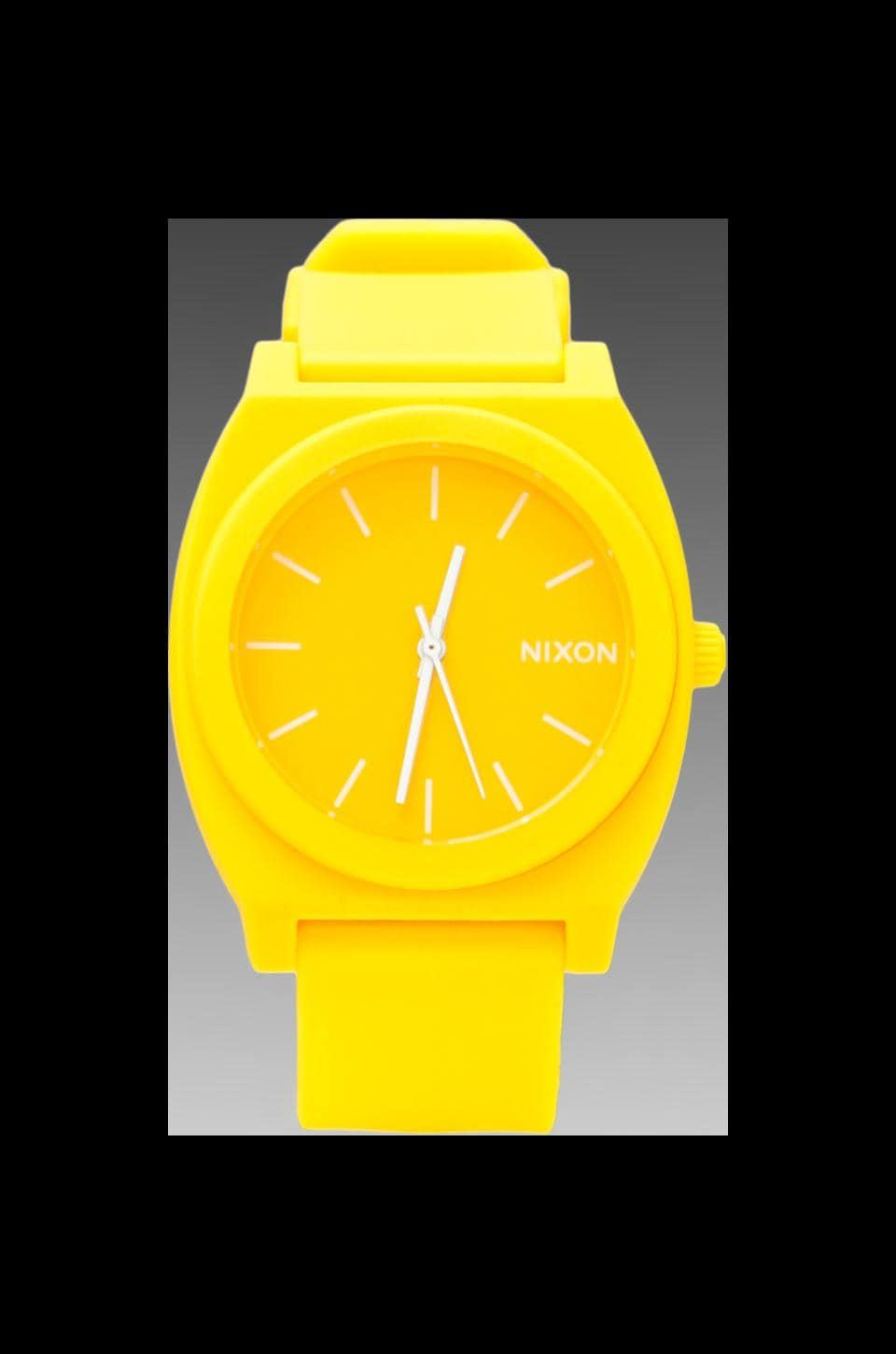 Nixon The Time Teller P in Matte Yellow