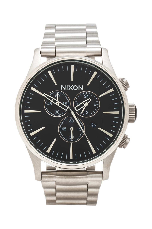 Nixon The Sentry Chrono in Black