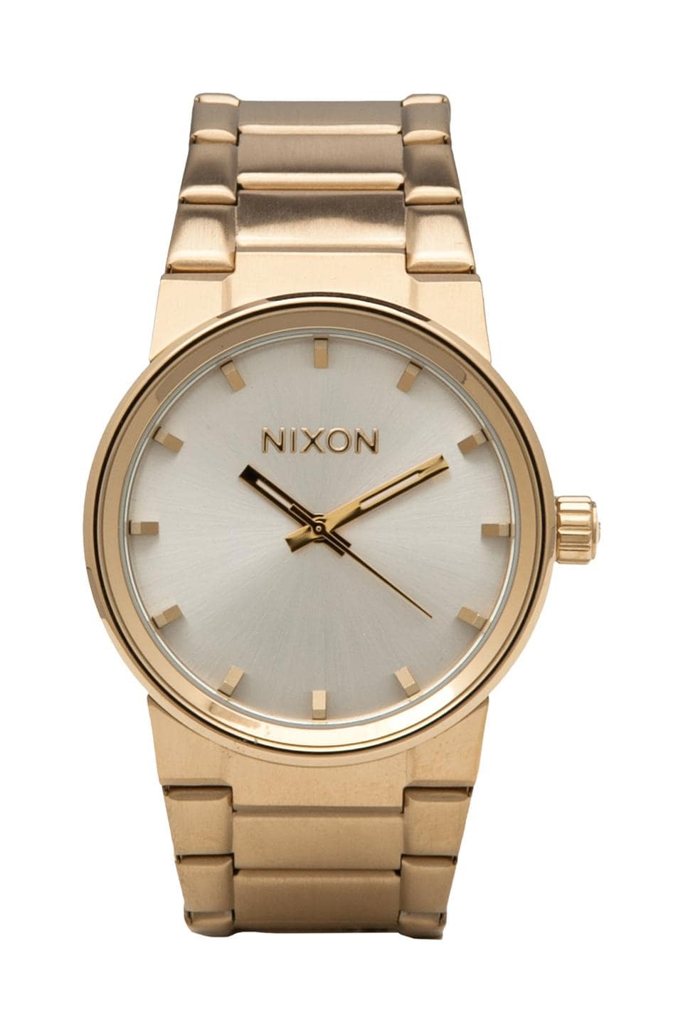 Nixon The Cannon in Champagne Gold & Silver