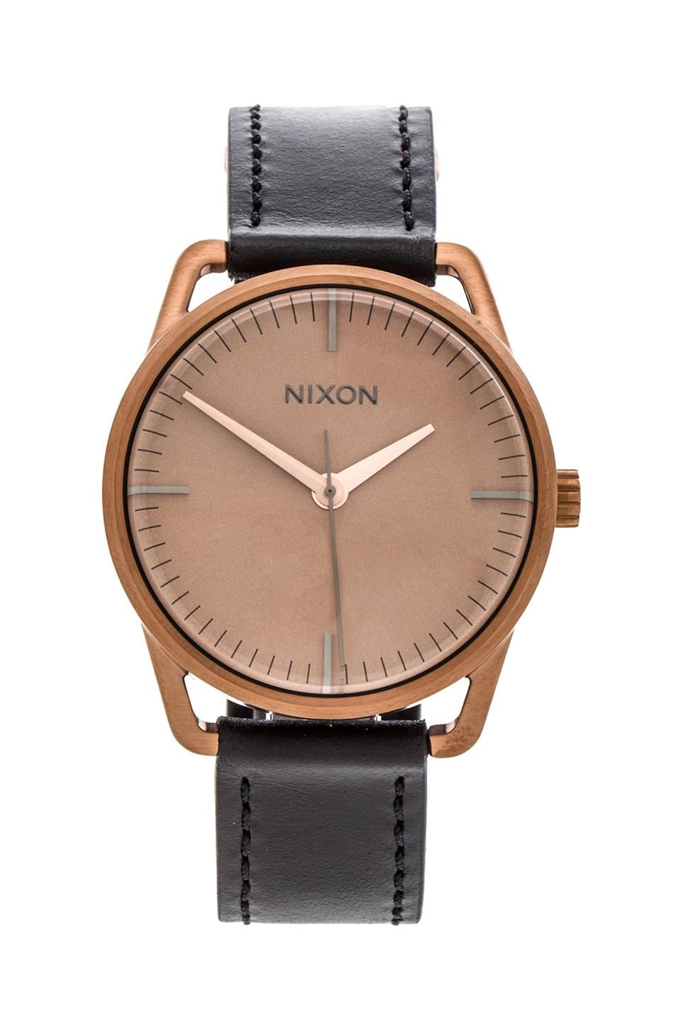Nixon The Mellor in Black/ Copper
