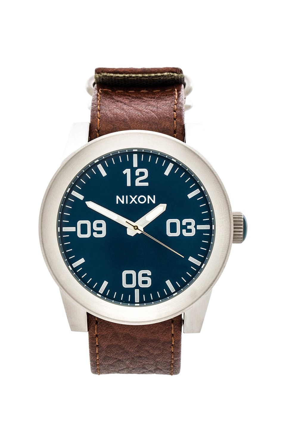 Nixon The Corporal in Brown & Blue Sunray