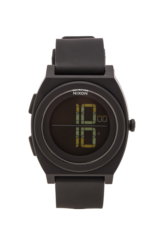 Nixon The Time Teller Digi in All Black