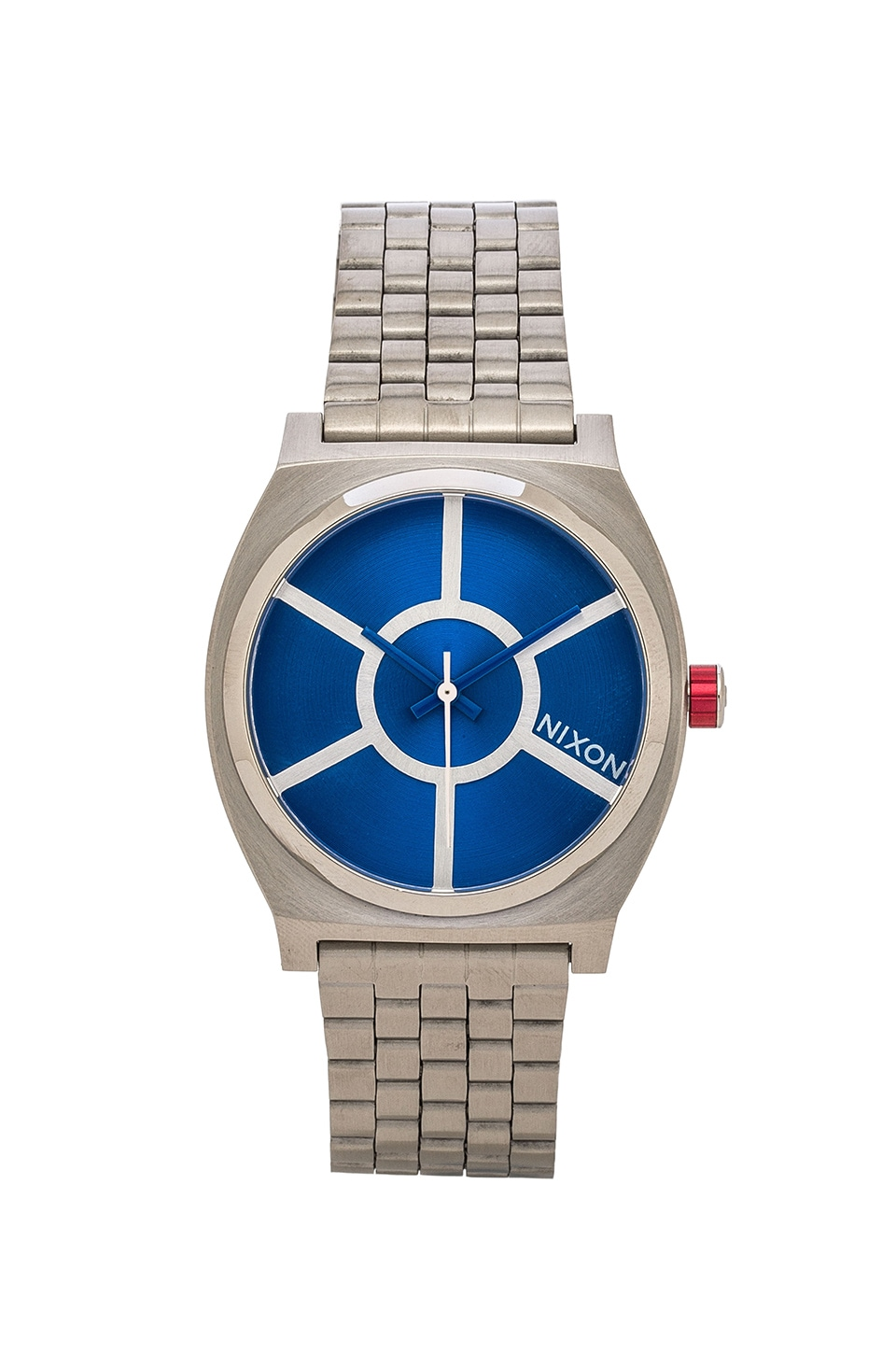 Nixon x Star Wars R2D2 Time Teller in R2D2 Blue