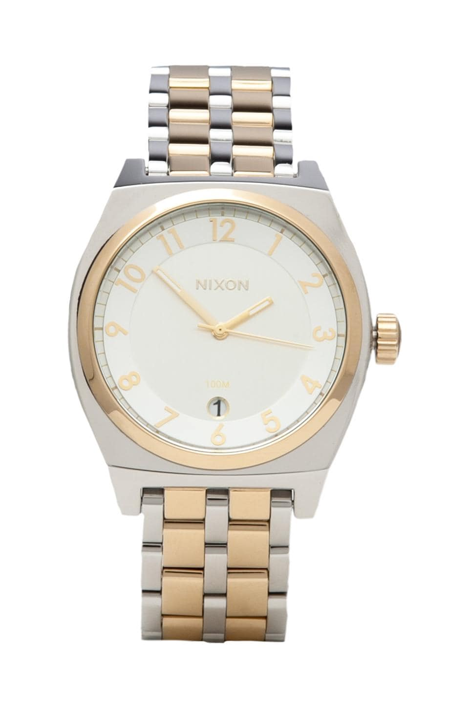 Nixon The Monopoly in Silver & Champagne Gold