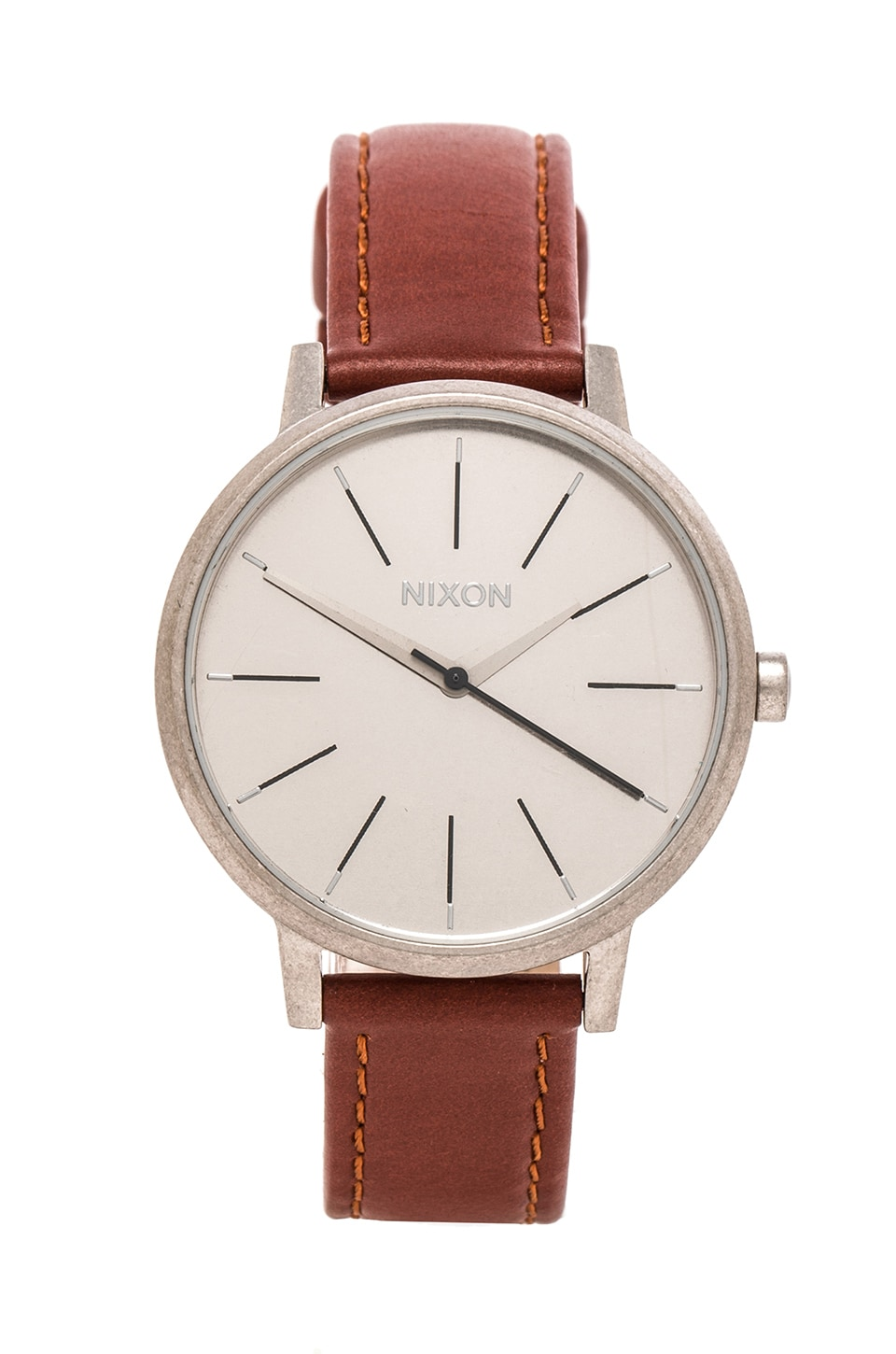 Nixon The Kensington Leather in Saddle