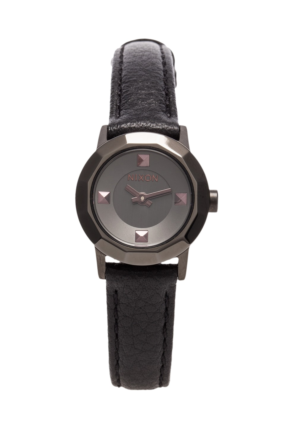 Nixon The Mini B in Gunmetal/Black