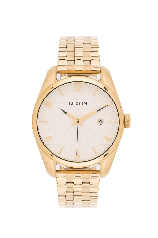 Nixon Bullet in Gold & White