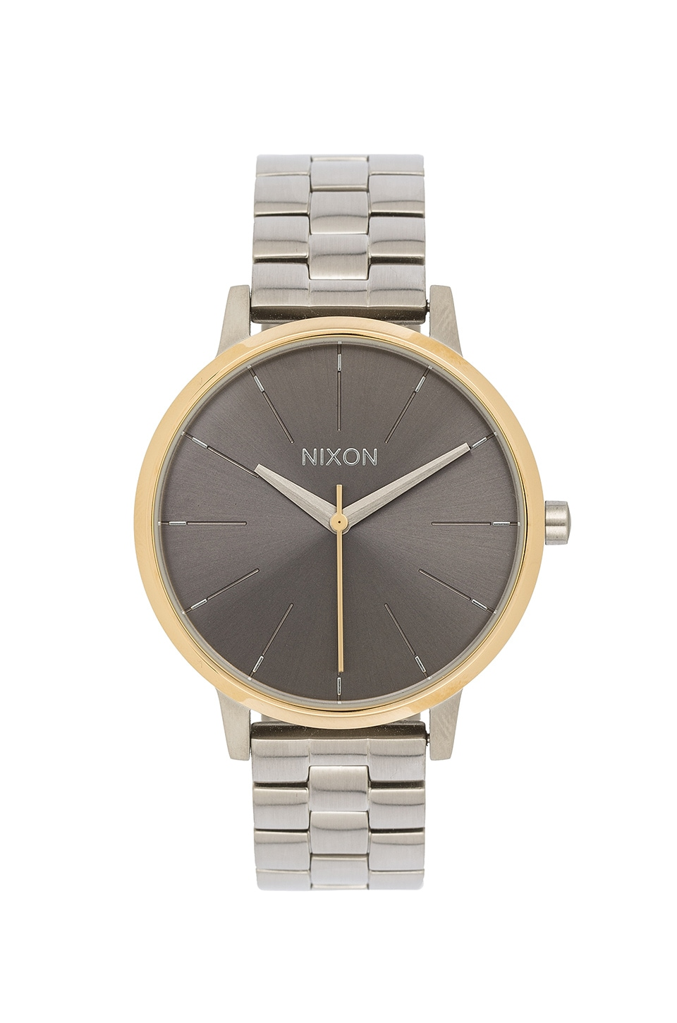 Nixon Kensington in Silver & Gold & Gray