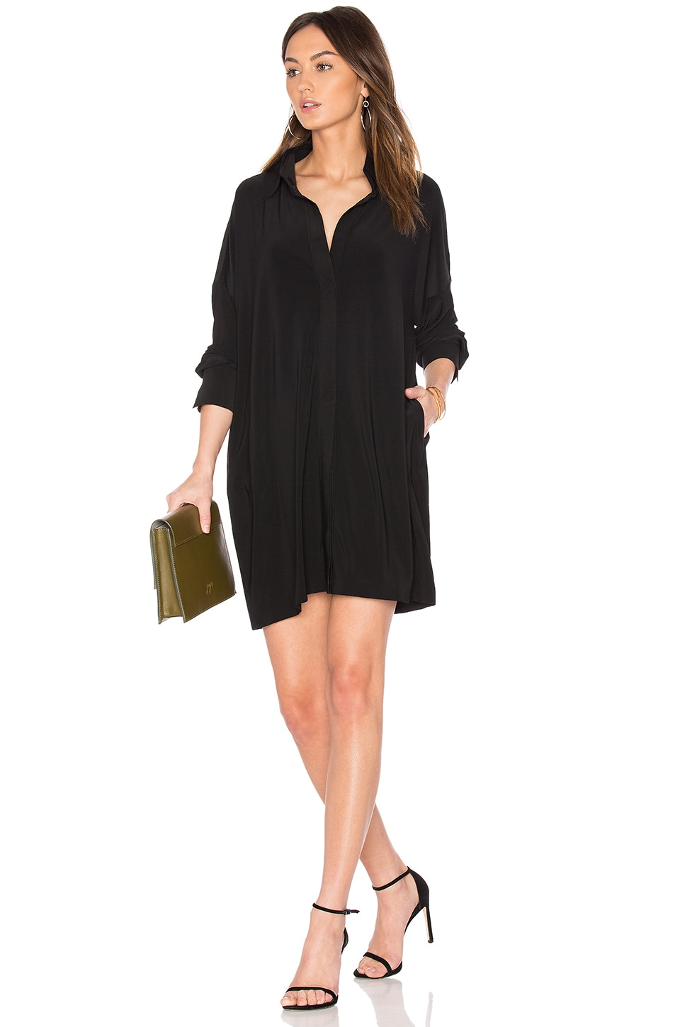 NK Box Shirt Dress by Norma Kamali