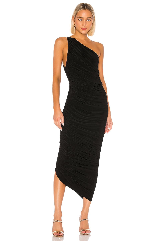 Norma Kamali Diana Gown in Black