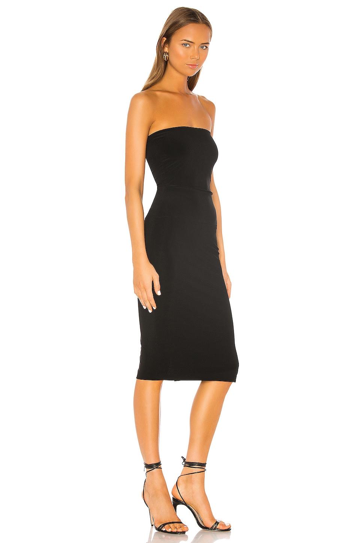 Norma Kamali Strapless Dress in Black - REVOLVE