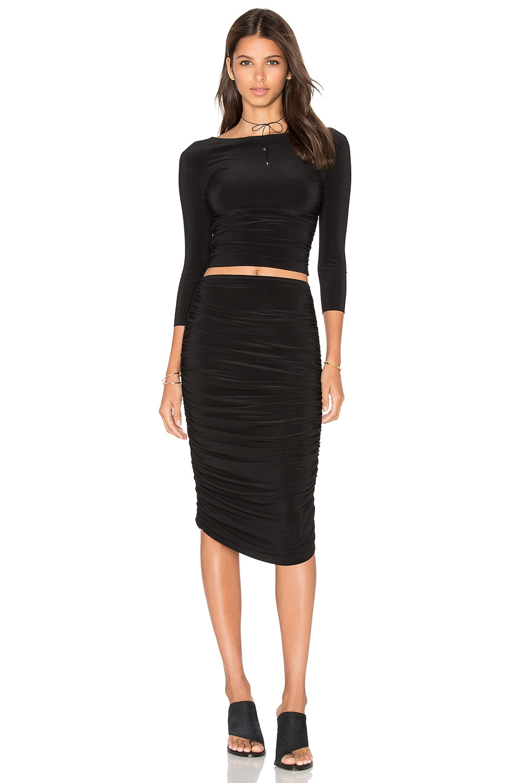 Long Sleeve Teaser Dress by Norma Kamali