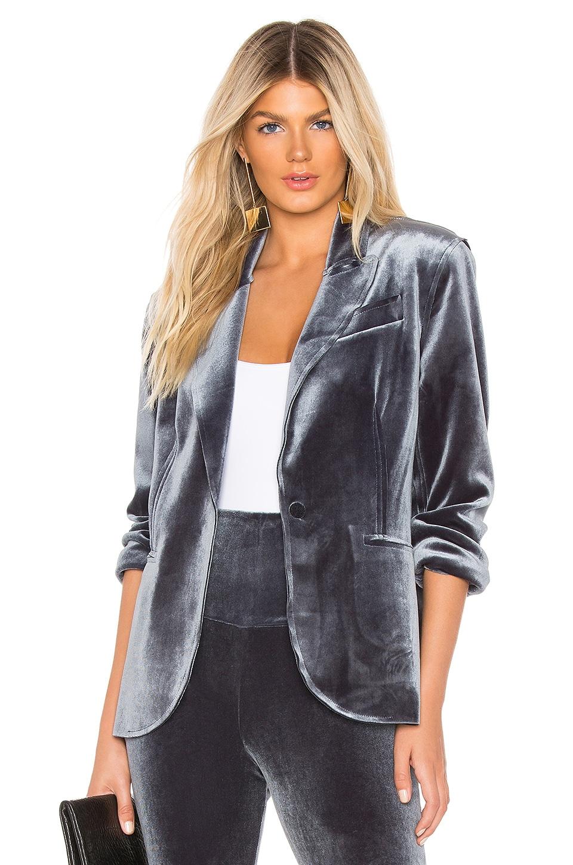 Velvet Single Breasted Jacket
