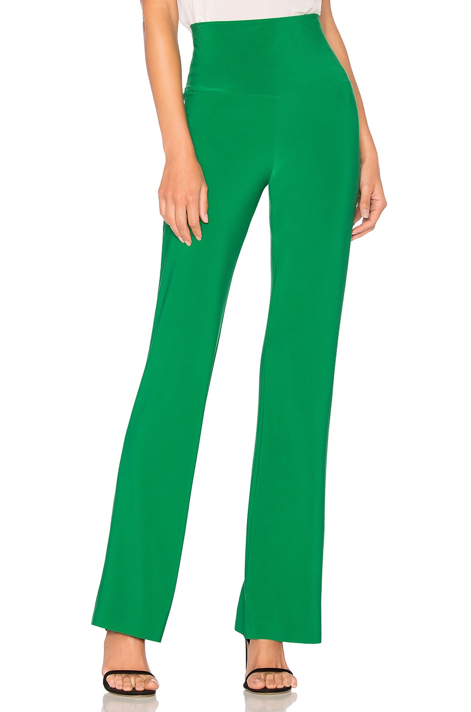 Norma Kamali X REVOLVE Boot Pant in Kelly Green
