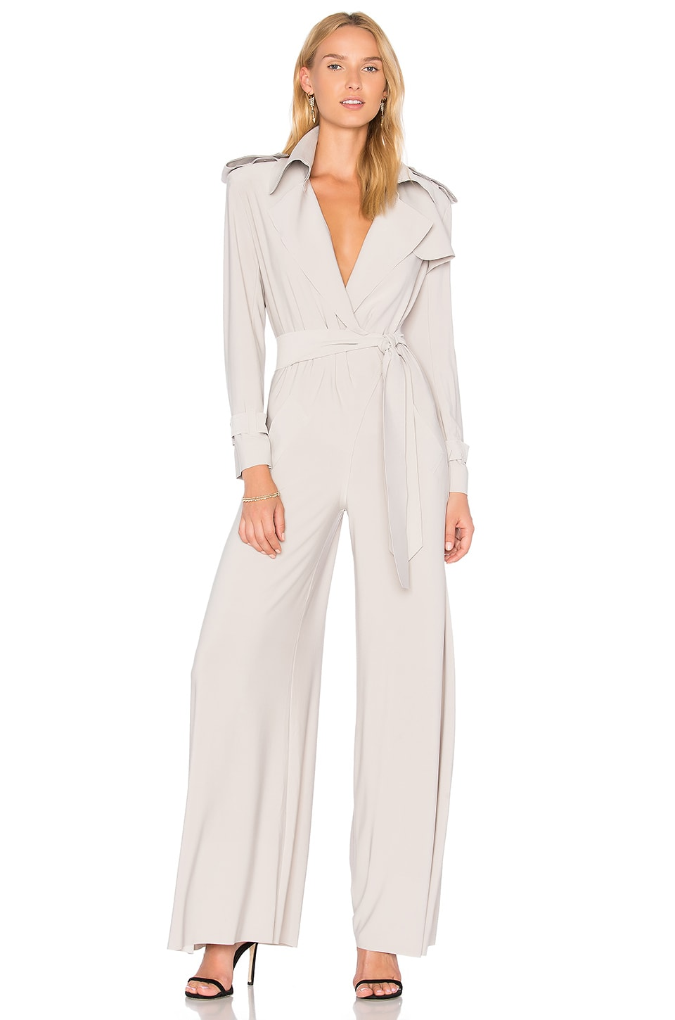 Trench Elephant Jumpsuit by Norma Kamali